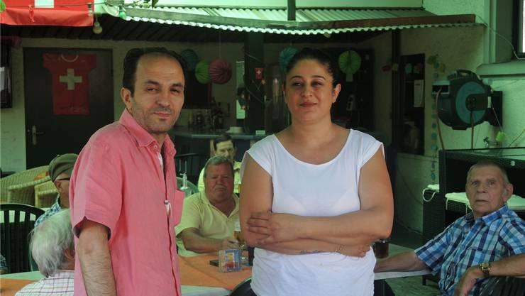«Wir hatten 14 Jahre lang nie Probleme», sagt das Wirtepaar Mehmet und Emine Baydar.