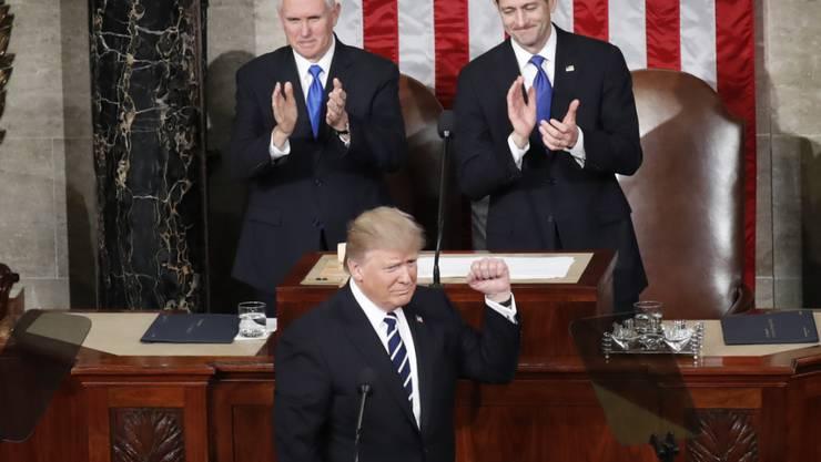 Die Kongresswahl im November gilt als Bewährungsprobe für US-Präsident Donald Trump. Er will sich darum intensiv in den Wahlkampf einschalten. (Archivbild)
