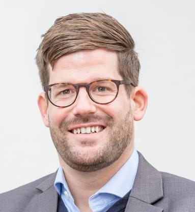Philipp Müller (FDP), am 4, März in den Stadtrat gewählter Gemeinderat