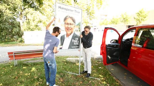 «Ein gutes Gefühl»: Hanspeter Thür räumt ab.