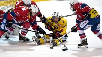 Ohne Ausländer und mit zehn Elitejunioren verlor der SC Bern beim NLB-Klub Biasca Ticino Rockets im Penaltyschiessen