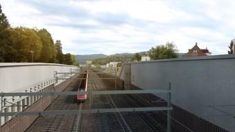 Vierspurausbau Bahnhof Liestal