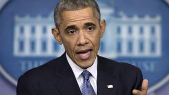 Präsident Barack Obama bei der Jahresmedienkonferenz