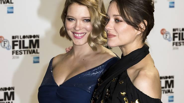 Proper will Léa Seydoux (l. neben Marion Cotillard) nur im Privatleben sein, im Film bevorzugt sie es etwas kaputter. (Archivbild)
