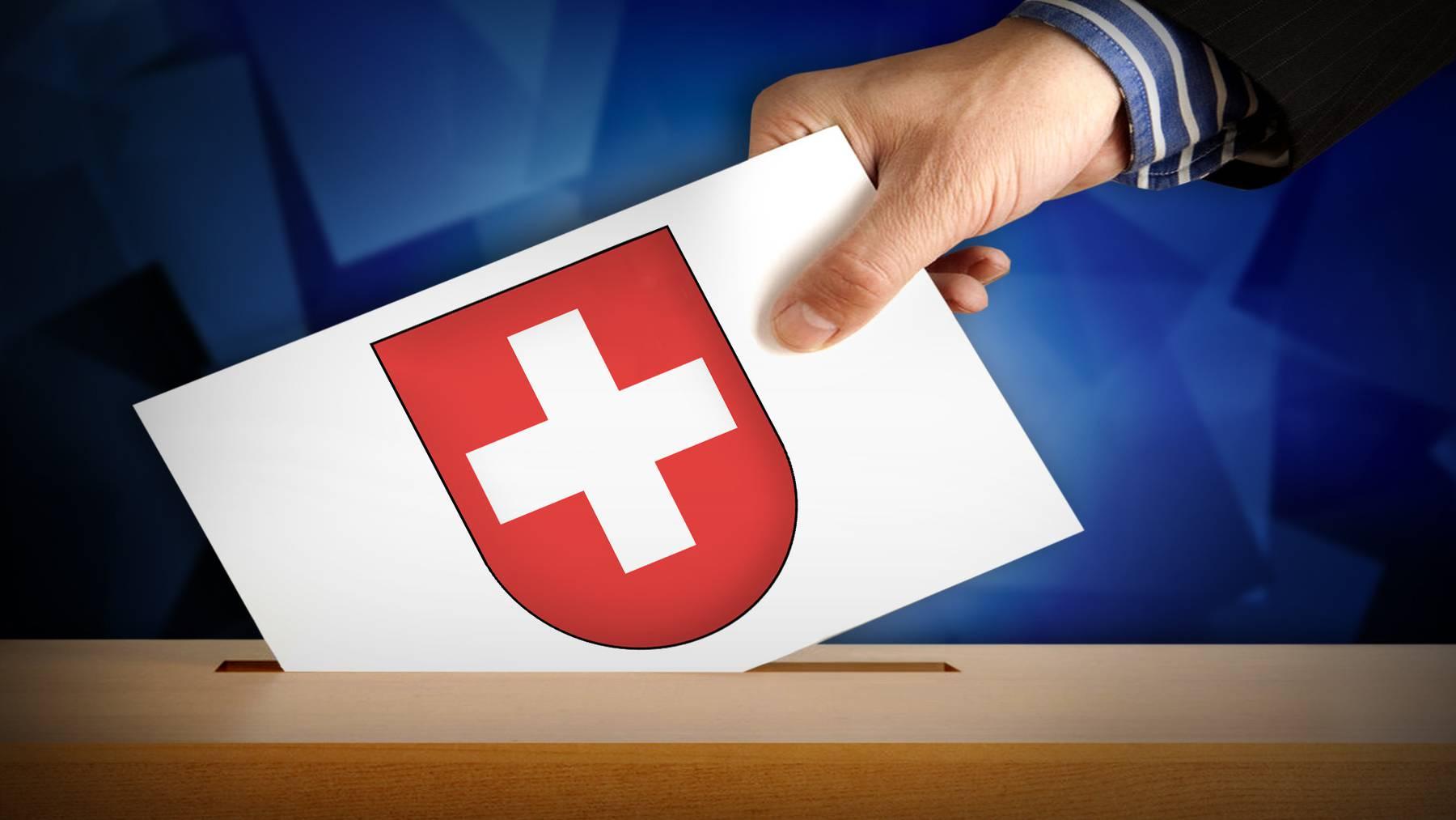 Wahlen und Abstimmungen Schweiz (Symbolbild)