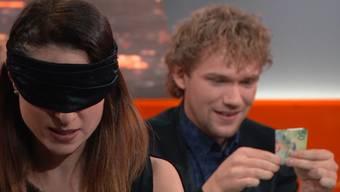 Unheimlich bis unglaublich: Amélie errät, was Thommy in den Händen hält – und die anderen beiden «Tricks» aus der Sendung.