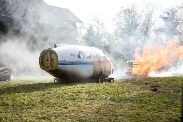 Flugzeugabsturz in Bettlach
