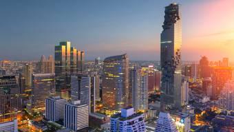 Die Hauptstadt in Thailand, Bangkok, war das beliebteste Reiseziel von Herr und Frau Schweizer im Jahr 2016.