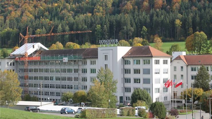 Die Longines-Fabrik im bernischen Saint-Imier.
