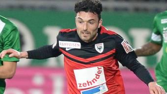 Der FC Aarau muss vorläufig auf Luca Radice verzichten.