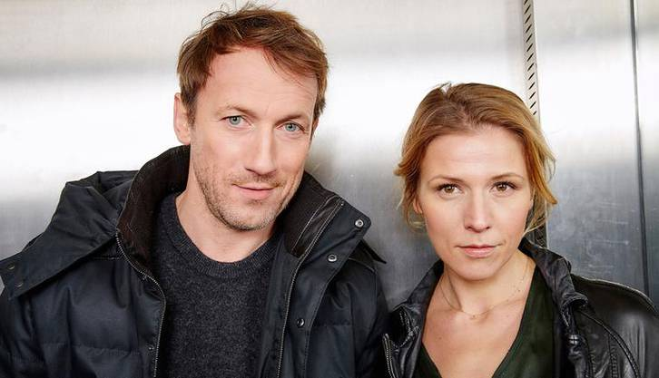 Wotan Wilke Möhring als Kommissar Thorsten Falke, Franziska Weisz als Oberkommissarin Julia Grosz.