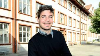Bereits als Schüler im Gymnasium am Münsterplatz wusste er, dass die SVP seine Partei ist.  Kenneth Nars