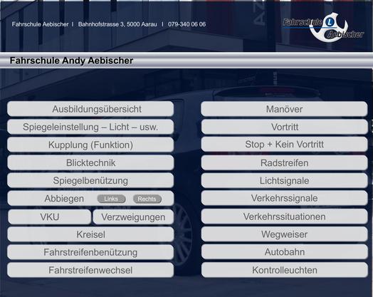 Aebischer hat eigens ein Lern-Programm für das Tablet entwickelt.
