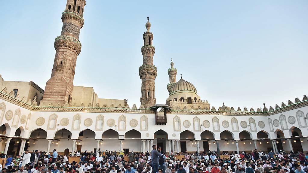 Millionen Muslime weltweit feiern Opferfest Eid al-Adha