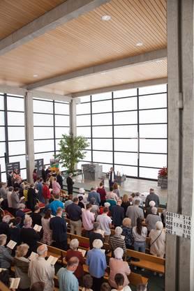 Festlicher Jubiläums-Gottesdienst. Foto: K.Salvisberg