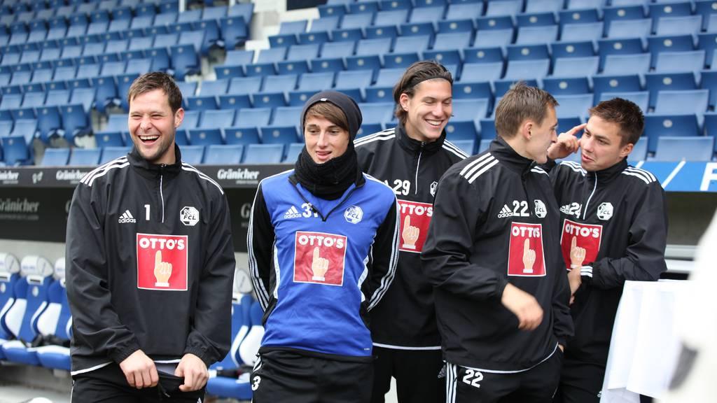FC Luzern: Training einmal anders
