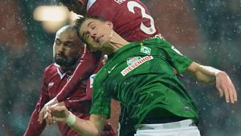 Matchwinner für Werder: Doppeltorschütze Nils Petersen