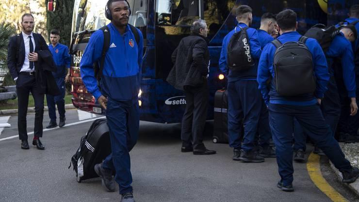 Am Montagmorgen hat sich der FC Basel von Zürich auf den Weg Richtung Marbella gemacht...