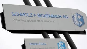 Mehr Stahl verkauft: Der Stahlhersteller Schmolz+Bickenbach konnte sich im ersten Quartal gegenüber der Vorjahresperiode steigern. (Archiv)
