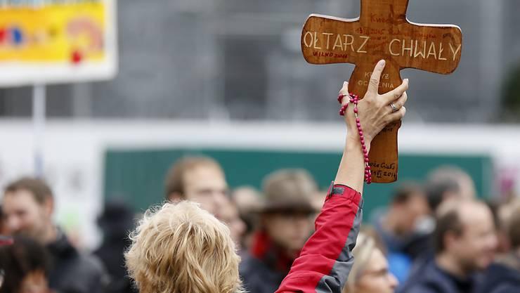 """Nach Zürich und Bern (Bild) luden die Organisatoren des """"Marsch fürs Läbe"""" dieses Jahr nach Obwalden - zwei Gemeinden stellen sich dagegen. (Archivbild)"""