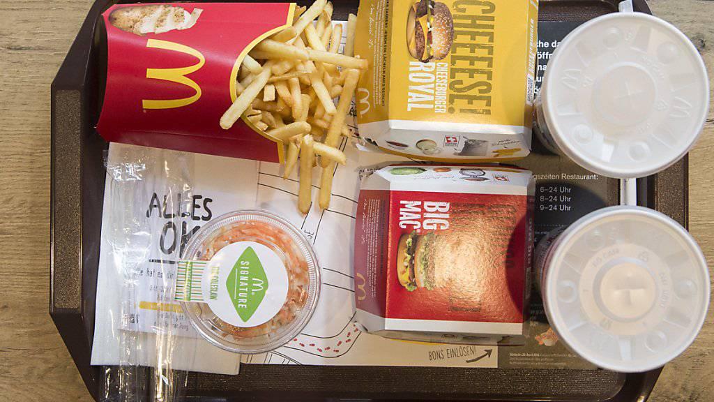 2018 war ein sehr erfolgreiches Jahr für McDonald's in der Schweiz. (Archivbild)