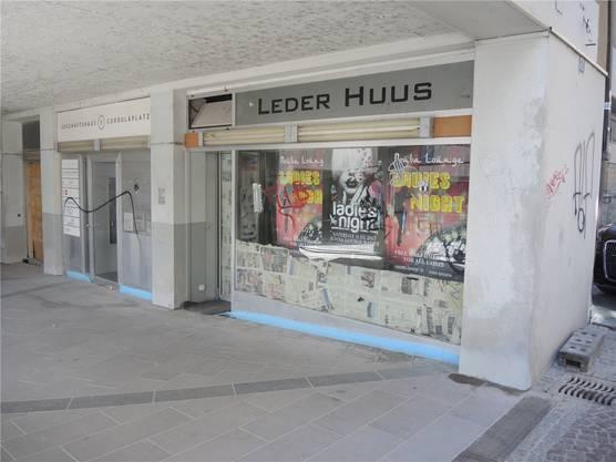 Im ehemaligen «Leder Huus» eröffnen im Sommer ein Café und ein Club. AZ-Archiv