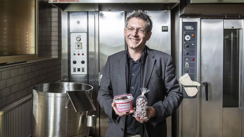 Marcel Lutz, CEO von Magenbrot Rohner AG.