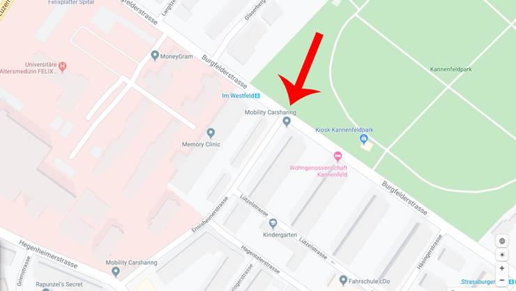 Burgfelderstrasse - Ensisheimerstrasse