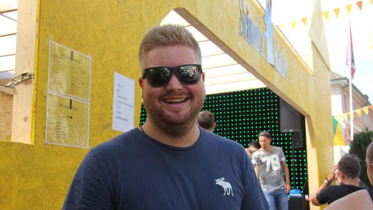 Pascal Egloff, 26, aus Stetten