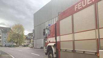 Feuerwehr-Einsatz beim Manor in Liestal.