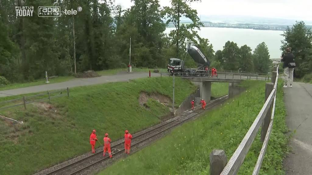 Mehrere Wochen nach Unwetter: In der Zentralschweiz wird immer noch aufgeräumt