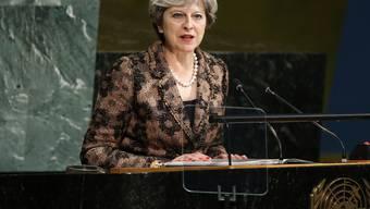 Sorgte in Zermatt für Spekulationen: Die britische Premierministerin Theresa May. (Archivbild)