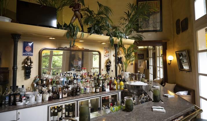 Blick auf die Bar.