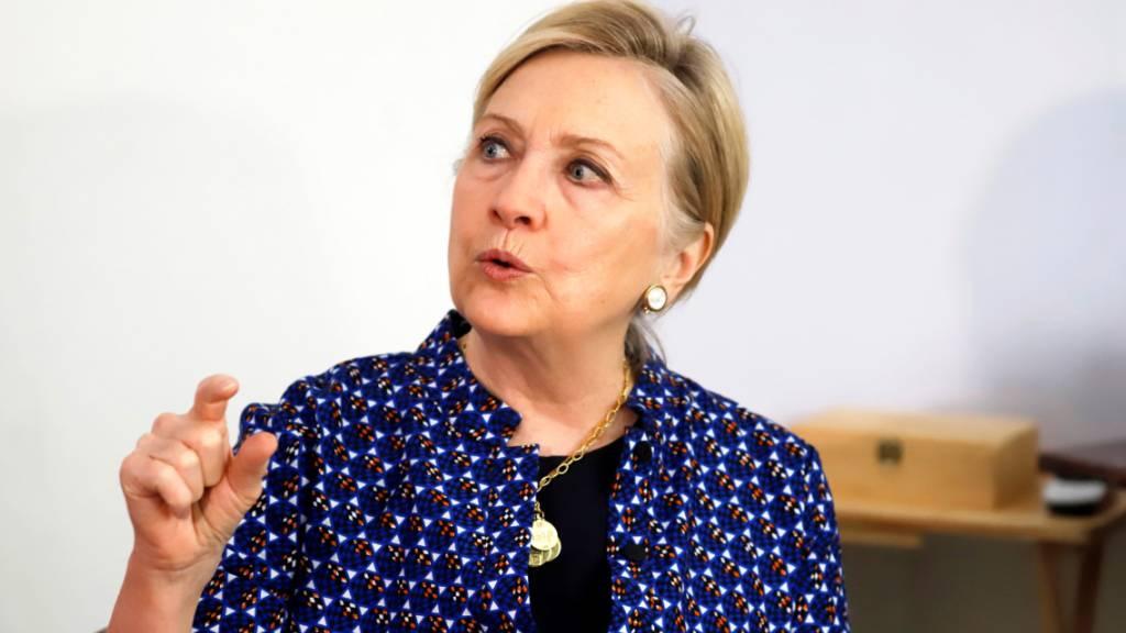 Hillary Clinton stellt beim Filmfestival eine Dokuserie vor