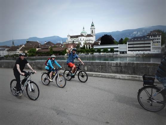 Abfahrt der offiziellen Gäste in Solothurn