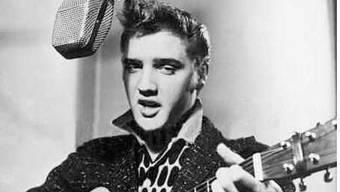 Elvis Presley in seinen Anfangstagen. (Archiv)