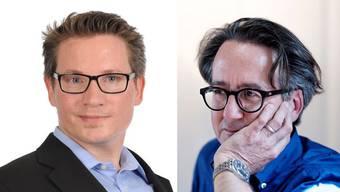 Als Parteiloser tritt Jean-Pierre Leutwyler beim 2. Wahlgang als Stadtratskandidat von Baden gegen Erich Obrist an.
