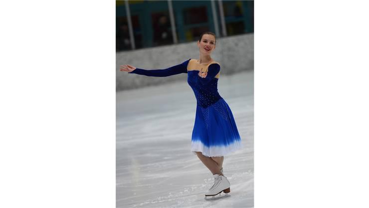 Lena Redlich zeigt in der Kategorie Basler Junioren Solo ihr Können.