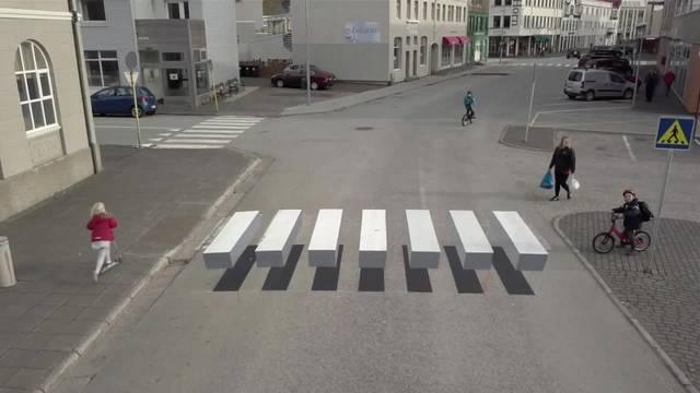 Erhält Basel 3D-Zebrastreifen?