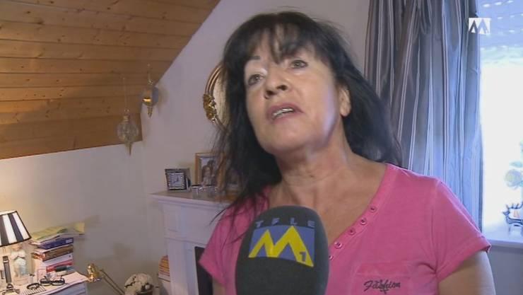 Monika Hauswirth, der Einbrecherschreck.