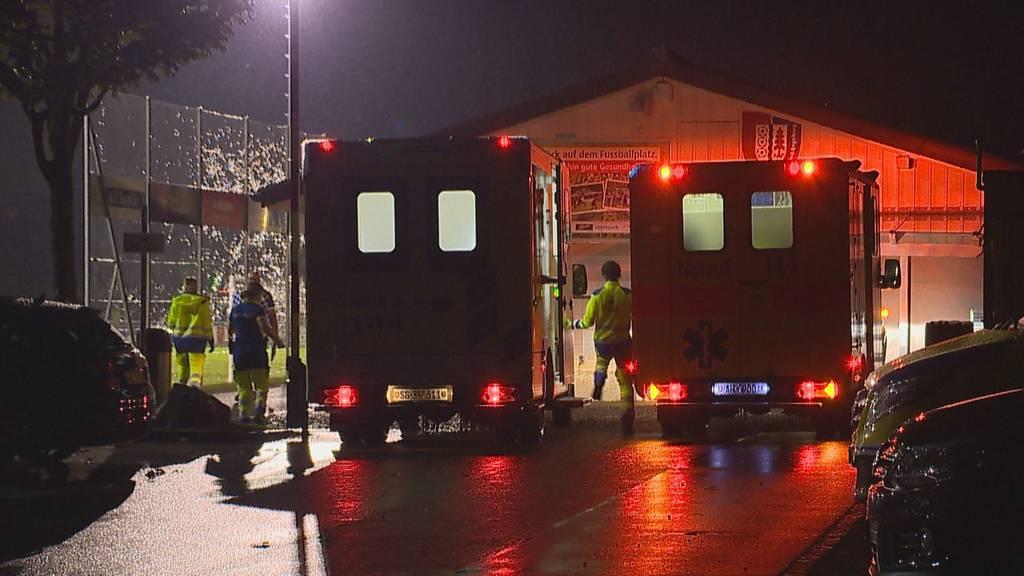 Blitzeinschlag während Match: Noch 3 von 14 Junioren im Spital
