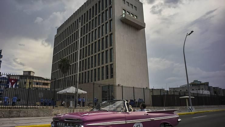 Auch Mitarbeiter der US-Botschaft in Havanna erlitten im letzten Jahr gesundheitlichen Problemen. Die Ursache hierzu ist noch immer unklar. (Archivbild)