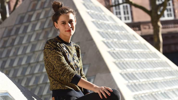 Nora Schlocker lebt in Berlin und im Kleinbasel – «ich mag Basel, die Leute sind hier sehr aufgeschlossen». Juri Junkov