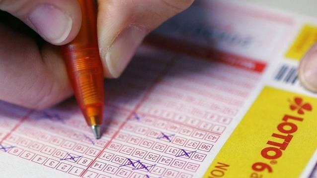 Ein deutscher Lottozettel. (Symbolbild)