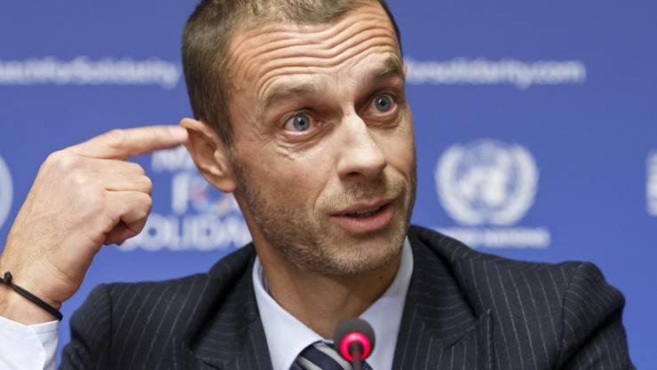 UEFA-Präsident Aleksander Ceferin rechnet nicht mit einem schnellen Entscheid über die Champions-League-Reform