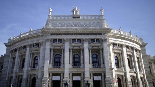Aussenansicht des Wiener Burgtheaters (Archiv)