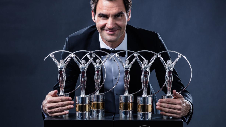 Roger Federer zum fünften Mal «Weltsportler des Jahres»