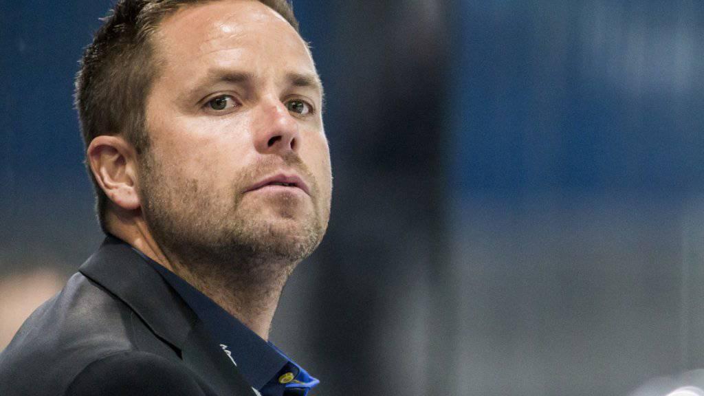 Stefan Hedlund betreut das Team  EVZ Academy