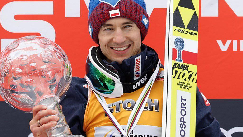Kamil Stoch aus Polen - der Überflieger der Skisprung-Szene startet am Wochenende in seiner Heimat zur neuen Saison