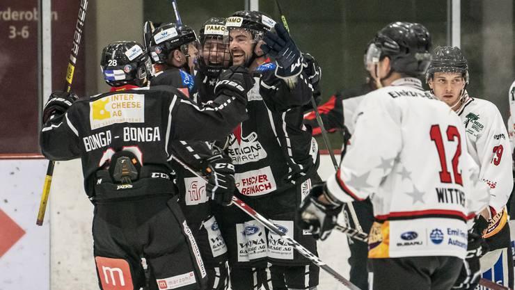 Das Derby zwischen den Red Lions Reinach und den Argovia Stars dürfte in dieser Saison noch umkämpfter werden.